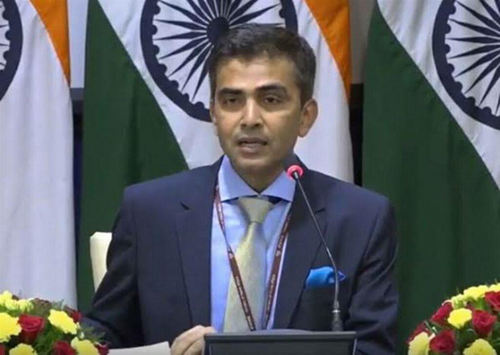 Raveesh Kumar MEA Spokesperson