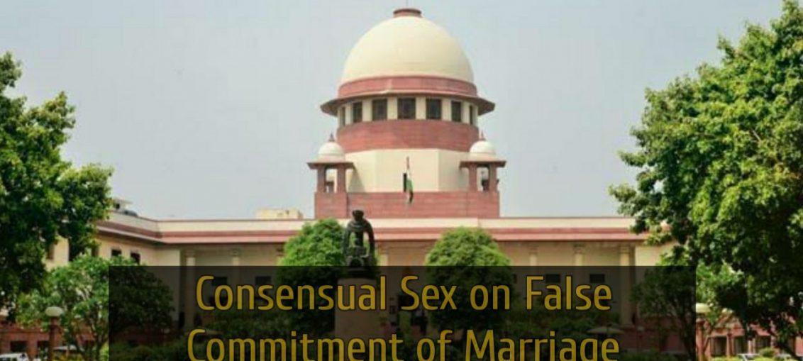 SC on Consensual Sex