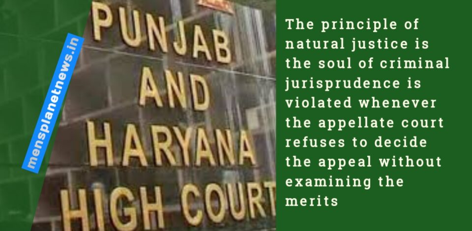 the principle of natural justice is the soul of criminal jurisprudence