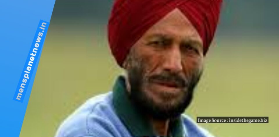 Indian former track and field sprinter Honorary captain Milkha Singh