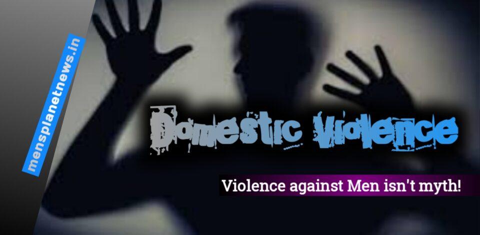 Violence against men, representational image